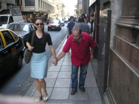 With Diego in Argentina - 2005