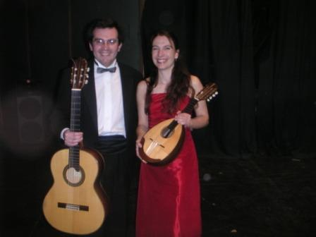 With Carlos Perez in Chile - 2005